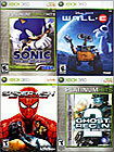 Sonic the Hedgehog / WALL-E / Spider-Man: Web of Shadows / Ghost Recon 2 - Xbox 360