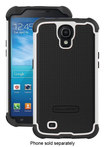 Ballistic - Tough Jacket Case for Samsung Galaxy Mega 6.3 Cell Phones - Black/White