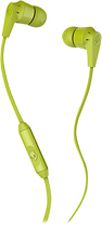Skullcandy - Ink'd 2 Earbud Headphones - Lime Green/Black