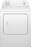 Roper - 6.5 Cu. Ft. 7-Cycle Gas Dryer - White