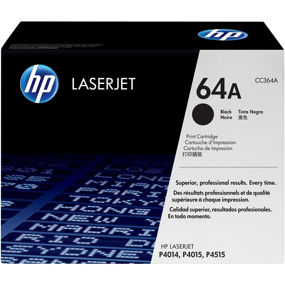 HP - 64A LaserJet Print Cartridge - Black