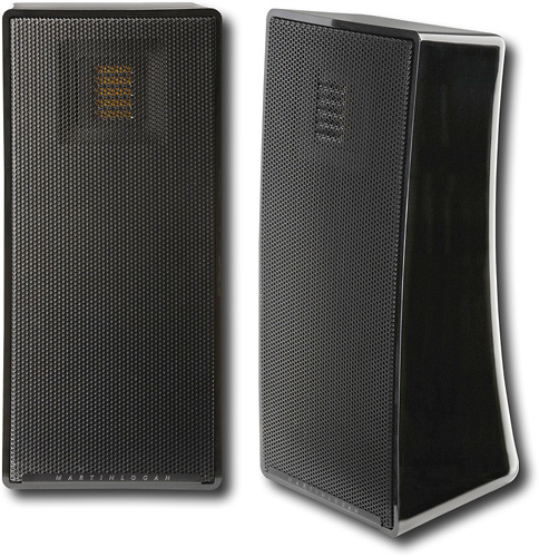 MartinLogan - Motion 4 4 Bookshelf Speaker (Each) - Gloss Black