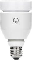 LIFX - Adjustable White A19 Wi-Fi Smart LED Light Bulb, 75W Equivalent - White