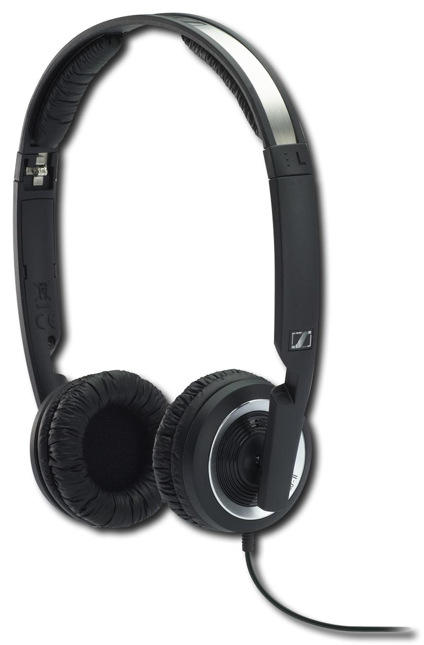 Sennheiser - Precision Over-the-Ear Headphones - Black