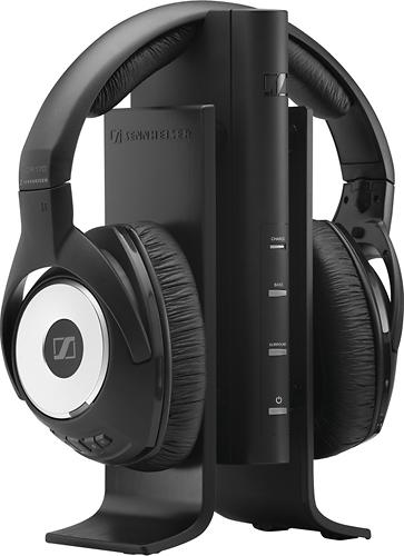 Sennheiser - RS 170 Wireless Over-the-Ear Headphones - Black