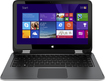 "HP - Geek Squad Certified Refurbished 2-in-1 13.3"" Touch-Screen Laptop Intel Core i3 4GB Memory 500GB HDD - Natural Silver/Natural Ash Silver"