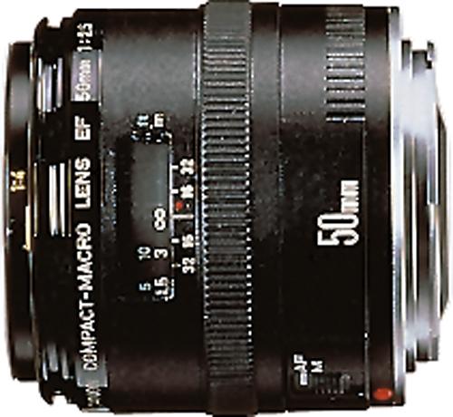 Canon - EF 50mm f/2.5 Compact Macro Lens - Black