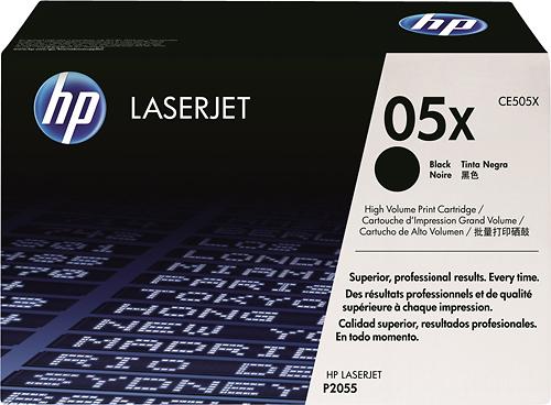 HP - CE505X LaserJet 05X Toner Cartridge - Black