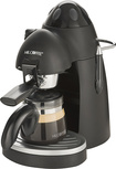 Mr. Coffee - 4-Shot Steam Espresso Machine - Black