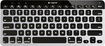 Logitech - Bluetooth Easy-Switch Keyboard for Apple® TV, iPad®, iPhone® and Mac® - Silver