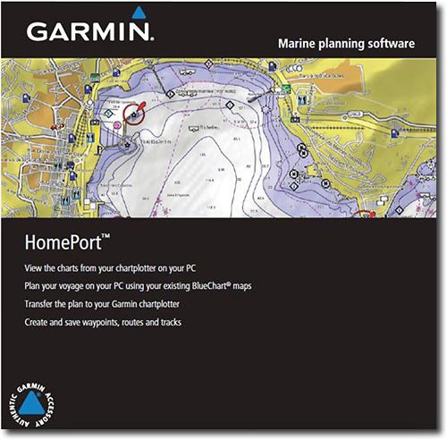 Garmin - HomePort Marine Planning Software 2GB microSD/Secure Digital Card - Multi