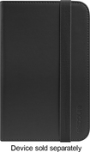 "Incase - Book Jacket Folio Case for Samsung Galaxy Tab 3 7"" - Black"