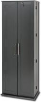 Ashlin - 702-Disc Media Storage Cabinet - Black