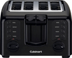 Cuisinart - 4-Slice Wide-Slot Toaster - Black