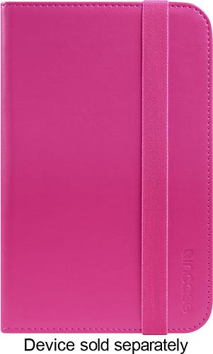 "Incase - Book Jacket Folio Case for Samsung Galaxy Tab 3 7"" - Pop Pink"