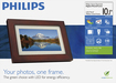"Philips - 10.1"" LCD Digital Photo Frame"