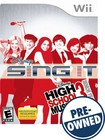 Disney Sing It: High School Musical 3: Senior Year - Pre-owned - Nintendo Wii