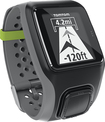 TomTom - Multi-Sport GPS Watch with Heart Rate Monitor, Cadence Sensor and Altimeter - Dark Gray