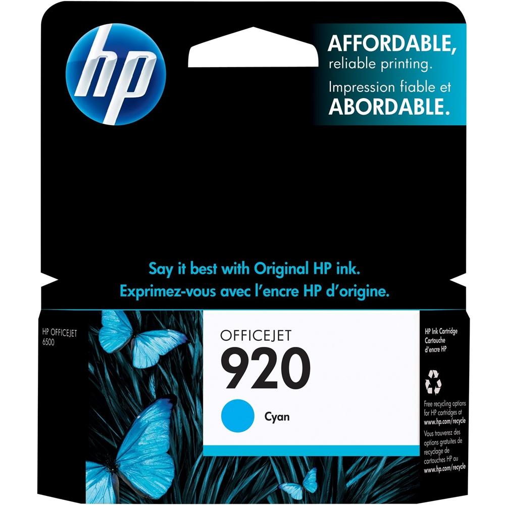 HP - 920 Ink Cartridge - Cyan