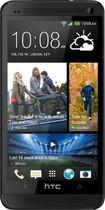 HTC - One (M7) 4G LTE Cell Phone (Unlocked) - Black