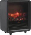 Crane - Fireplace Space Heater - Black