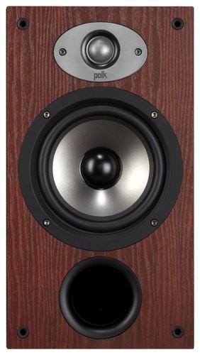 Polk Audio - TSx Series 6-1/2 2-Way Bookshelf Loudspeakers (Pair) - Cherry