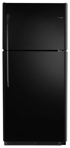 Frigidaire - 20.5 Cu Ft. Top-Freezer Refrigerator - Black