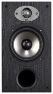 "Polk Audio - TSx Series 6-1/2"" 2-Way Bookshelf Loudspeakers (Pair) - Black"
