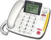 Uniden - Corded Speakerphone with Call-Waiting Caller ID - White