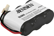 Jensen - Nickel-Metal Hydride Battery for Select AT&T and VTech Cordless Phones - Black