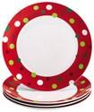 Rachael Ray - 4-Piece Dinner Plate Set
