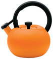 Circulon - 2-Quart Circles Teakettle - Mandarin Orange