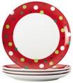 Rachael Ray - 4-Piece Salad Plate Set