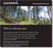 Garmin - TOPO U.S. 24K Great Lakes microSD Card - Multi