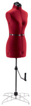 Singer - Small Dress Form - Red