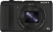 Sony - Cyber-shot HX50V 20.4-Megapixel Digital Camera - Black