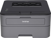 Brother - HL-L2300D Black-and-White Printer - Charcoal Gray/Black