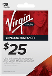 Virgin Mobile - $25 Broadband2Go Top-Up Card - White