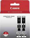 Canon - 250 Xl Ink Tank Twin-pack - Black