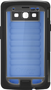 OtterBox - Armor Series Case for Samsung Galaxy S III Cell Phones (AT&T, Verizon Wireless, Sprint) - Blue/Gray