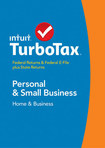 TurboTax Home & Business Federal & State Returns + Federal E-File 2014 - Windows