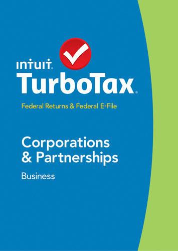 TurboTax Business Federal Returns + Federal E-File 2014: Corporations & Partnerships - Windows