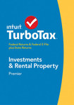 TurboTax Premier Federal & State Returns + Federal E-File 2014: Investments and Rental Property - Mac/Windows