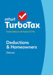 TurboTax Deluxe Federal Return + Federal E-File 2014: Deductions & Homeowners - Mac|Windows