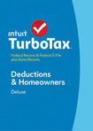TurboTax Deluxe Federal & State Returns + Federal E-File 2014: Deductions & Homeowners - Mac/Windows