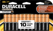 Duracell - Coppertop Aa Batteries (24-pack) - Black