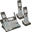 AT&T - CLP99383 Connect to Cell DECT 6.0 Expandable Cordless Phone System with Digital Answering System - Gray