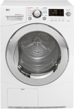 LG - 4.2 Cu. Ft. 9-Cycle Large Capacity Electric Dryer - White