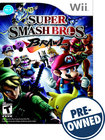 Super Smash Bros. Brawl — PRE-OWNED - Nintendo Wii