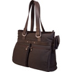 "Mobile Edge - Eco-Friendly Carrying Case (Tote) for 17"" Notebook - Chocolate"